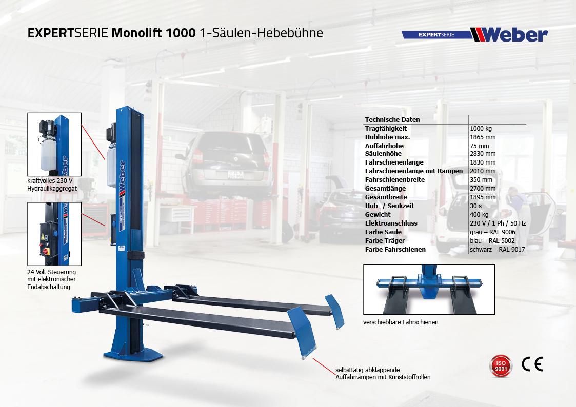 Weber Expert Serie Monolift 1000