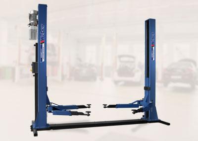 2 Säulen Hebebühne Weber Expert Serie Autolift 4.0-G mit Grundrahmen