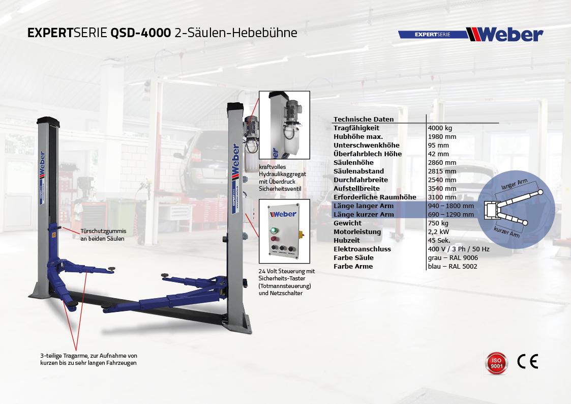 Weber Expert Serie QSD 4000