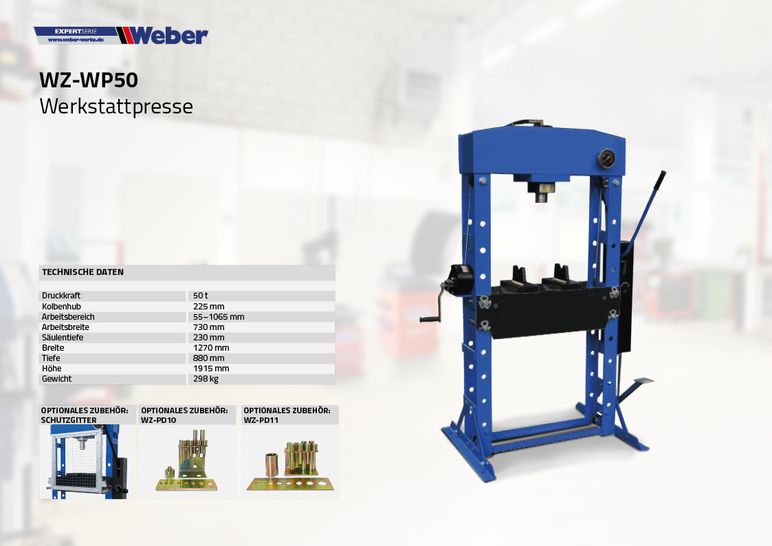 Werkstattpresse WZ-WP50