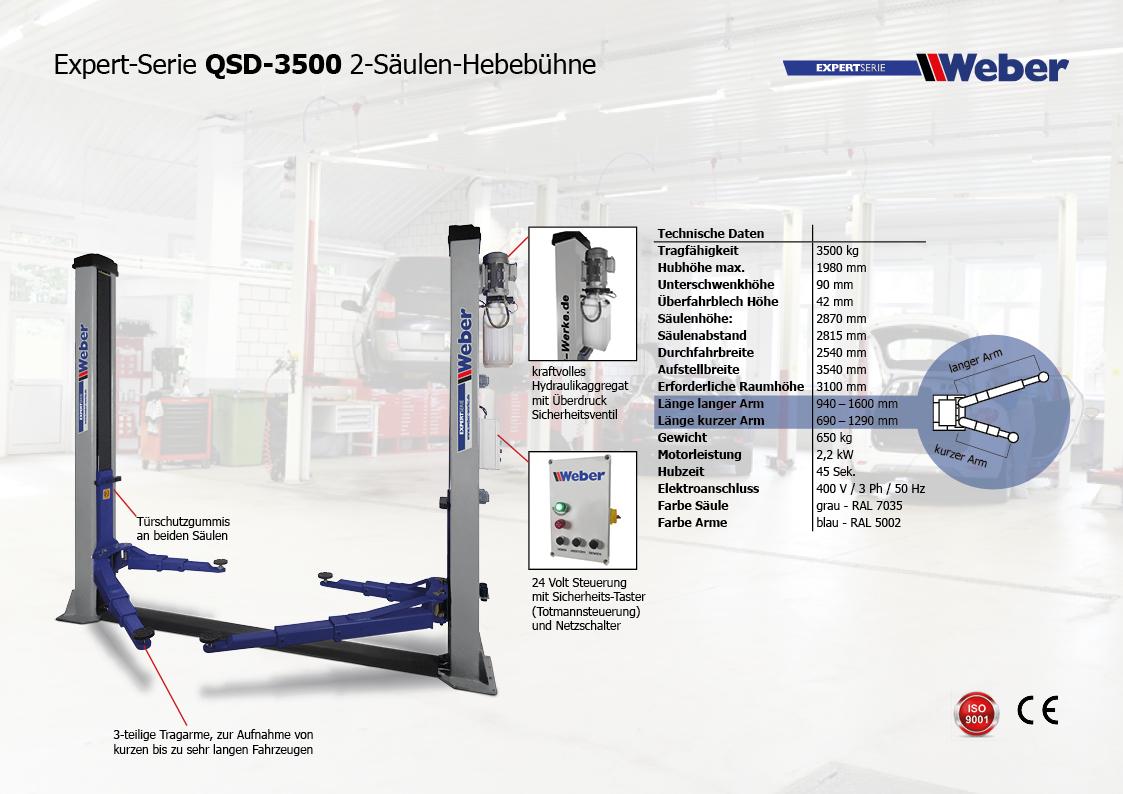 Weber Expert Serie QSD 3500