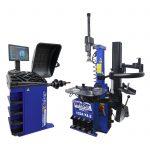 PKW Reifenmontiermaschine 1024-XL-2HP und Radwuchtmaschine Präzision-3D Sonar