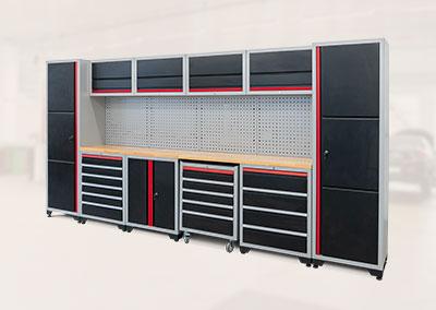 Professionelles Werkstatt Schranksystem Serie 510 16-teilig